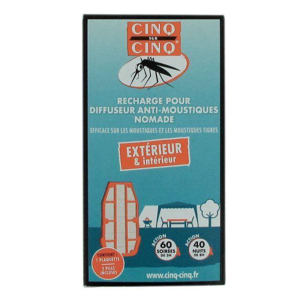 recharge diffuseur anti-moustiques nomade pas cher