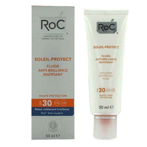 Soleil-Protect Fluide Anti Brillance Matifiante SPF30+ 50ml au meilleur prix| RoC