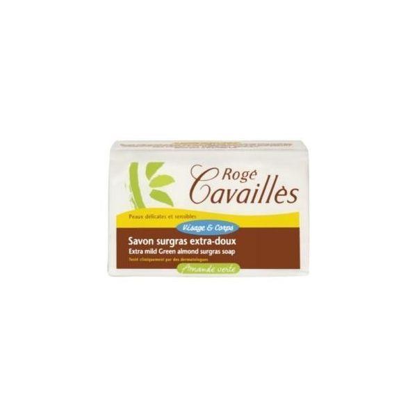 Savon Surgras Extra-doux Amande Verte 150gr moins cher| Rogé Cavaillès
