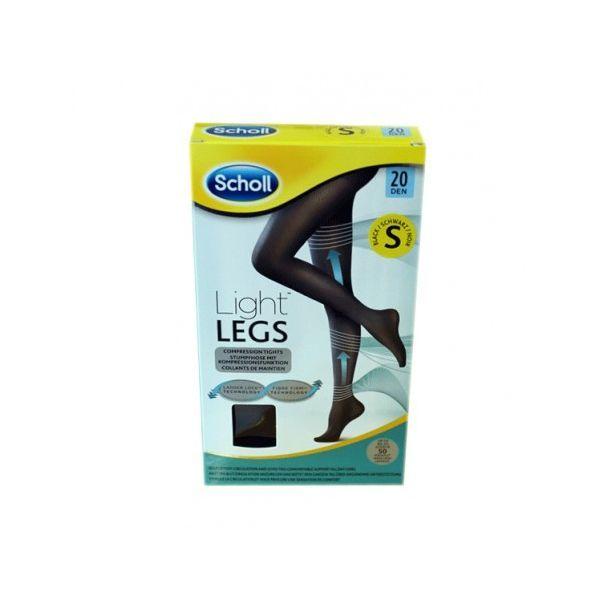 Collant Light Legs Noir 20 Deniers Taille S à prix bas| Scholl