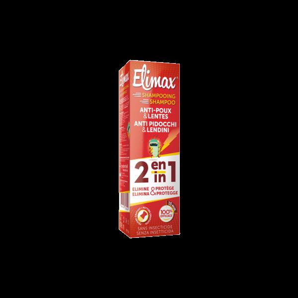 Shampooing Anti-poux et Lentes 100 ml + Peigne au meilleur prix  Elimax