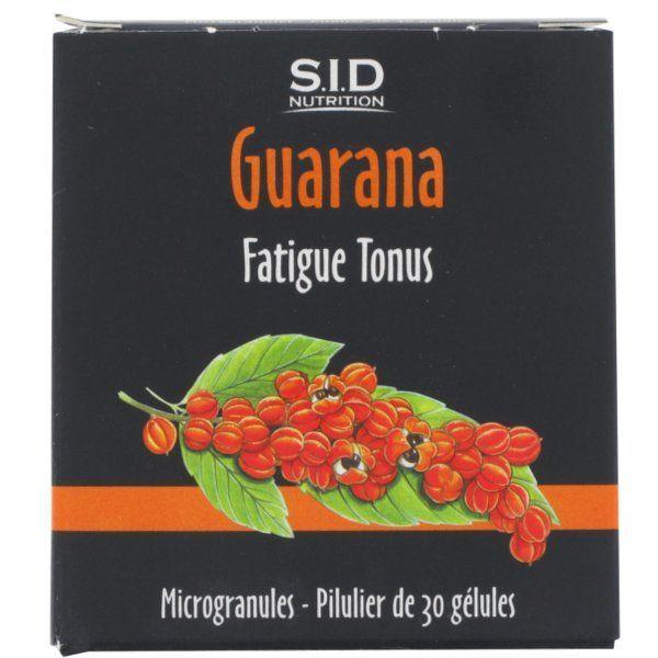 Guarana 30 Gélules moins cher| SID Nutrition