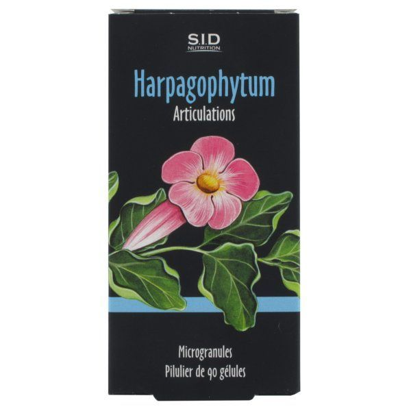 Harpagophytum 90 Gélules à prix bas| SID Nutrition