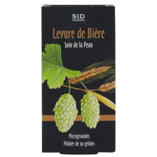 Levure de Bière 90 Gélules à prix bas| SID Nutrition