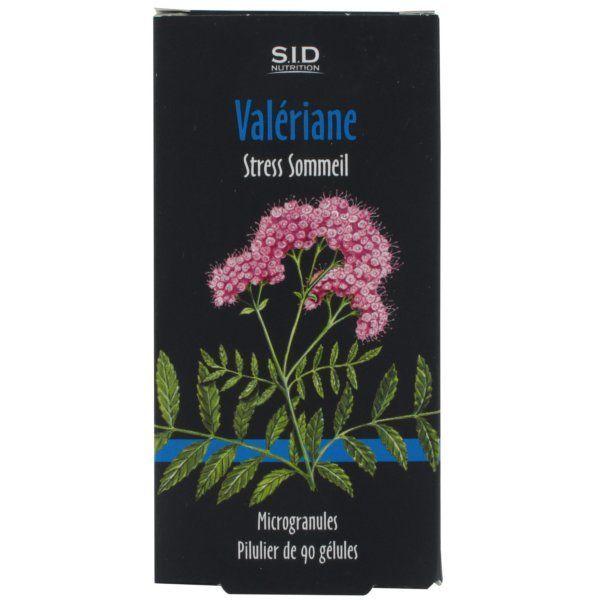 Valériane 90 Gélules à prix bas| SID Nutrition