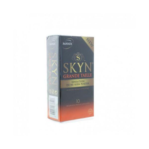 MANIX SKYN GRANDE TAILLE PRESERVATIFS X10