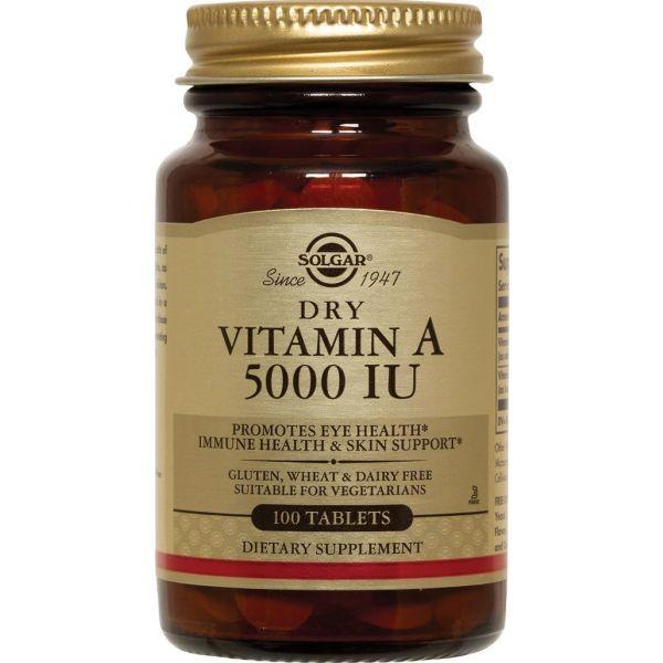 Vitamine A 100 Comprimés  moins cher| Solgar