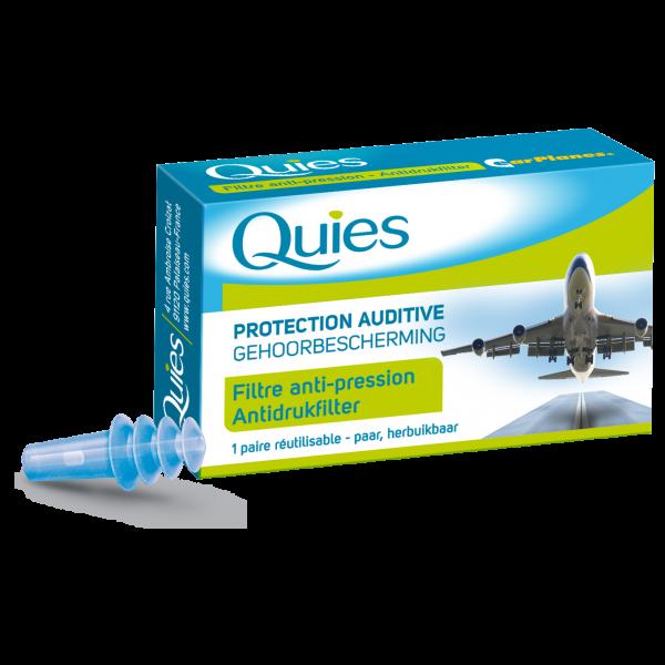 Protection Auditive Filtre Anti-Pression 1 Paire Pour Adulte moins cher| Quies