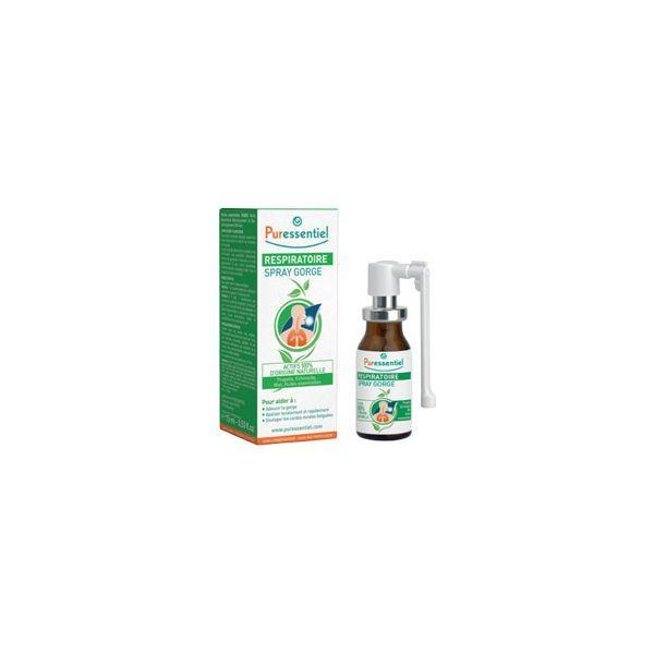 Respiratoire Spray Gorge 15ml à prix discount  Puressentiel