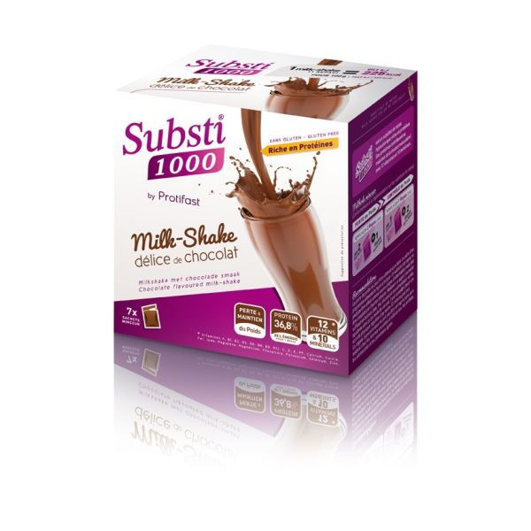 Substi 1000 Milk Shake Chocolat by Protifast