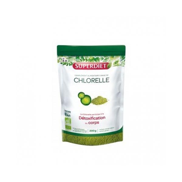 Chlorelle Bio et vegan de Super Diet
