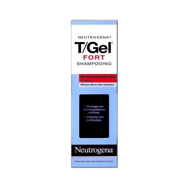 Shampooing T/Gel Fort Démangeaisons sévères 125 ml à prix bas| Neutrogena