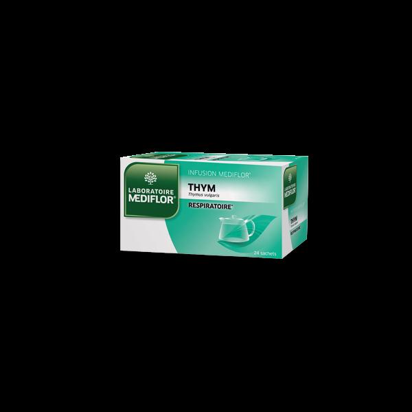 Infusion Thym 24 sachets moins cher  Médiflor