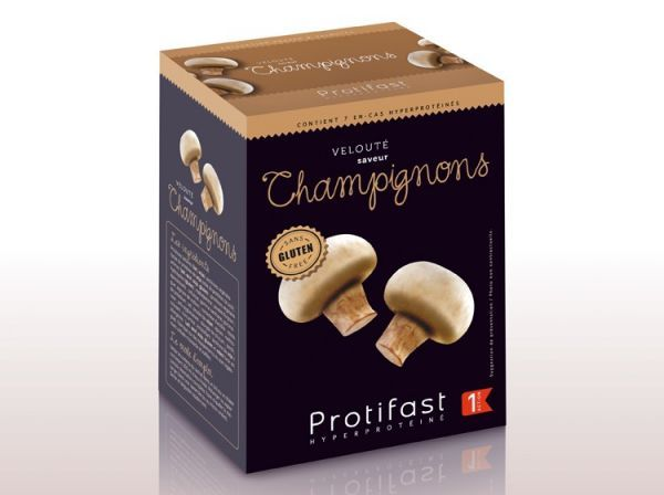 Velouté Champignons 7 Sachets moins cher| Protifast