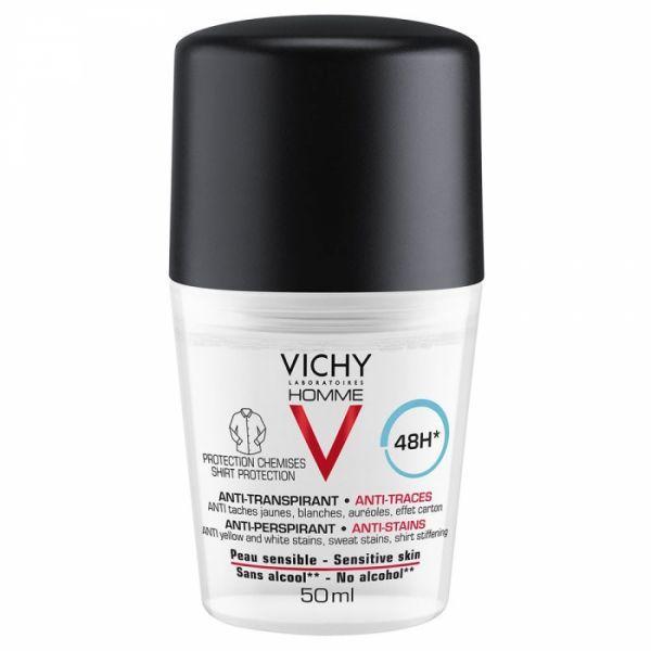 Déodorant anti-traces et anti transpirant de Vichy Homme