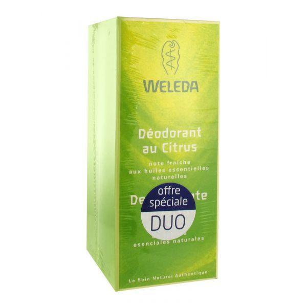 Déodorant au Citrus Lot 2x100ml à prix discount| Weleda