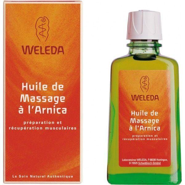 Huile de massage à l'Arnica 50 ml à prix discount| Weleda