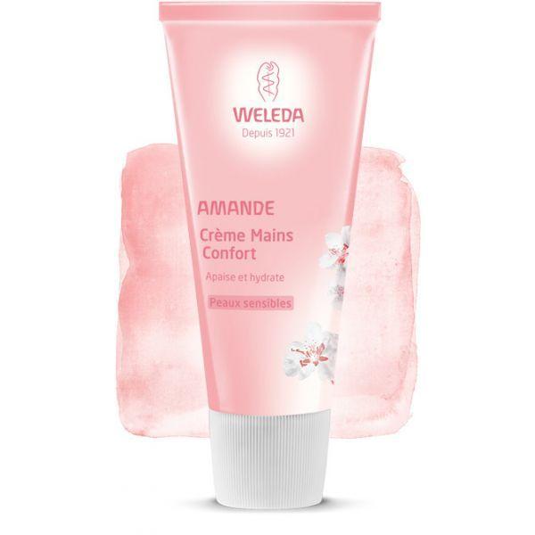 Amande Crème Mains 50ml à prix discount  Weleda