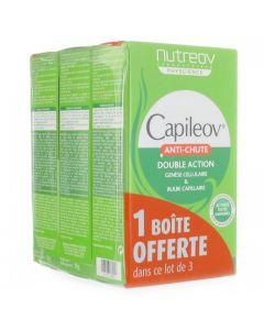Capileov 3X30gélules à prix bas  Nutreov