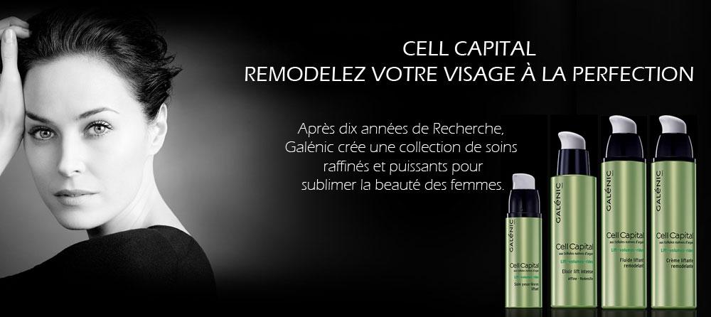 cell capital Galénic innovation anti âge